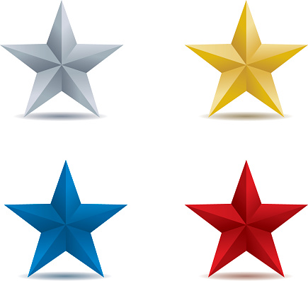 Stars in four colors