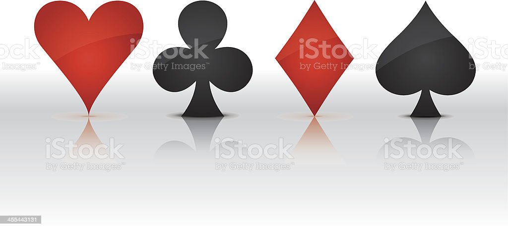 four symbols royalty-free four symbols stock vector art & more images of ace