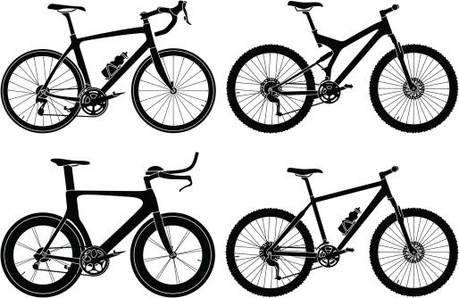 Four Types of Bikes