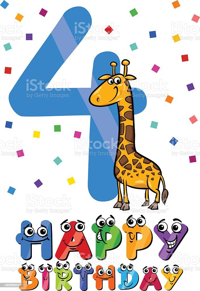 4 Geburtstag