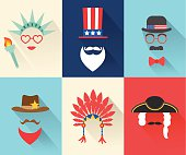 Fourth July Independence Day characters