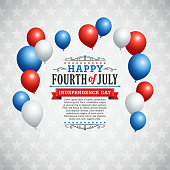 Fourth of July Background. Eps 10 file with transparencies. File is layered, global colors used and hi res jpeg included. Please take a look at other work of mine linked below.