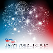 Fourt of July background .EPS 10 file with transparencies. All elements are separate objects. File is layered, global colors used and hi res jpeg included. Please take a look at other work of mine linked below.