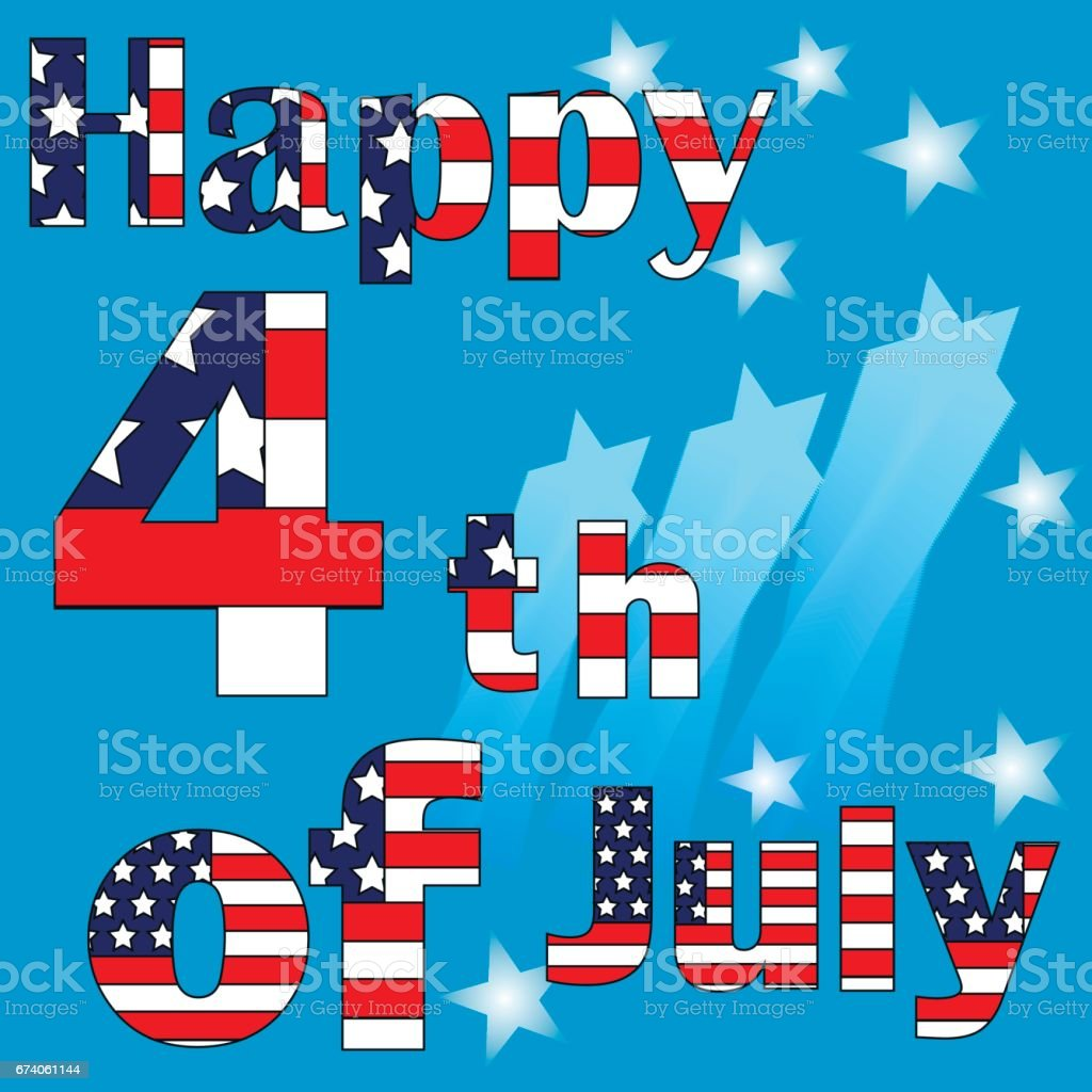 fourth of july, independence day , happy independence day, card royalty-free fourth of july independence day happy independence day card stock vector art & more images of 4-5 years