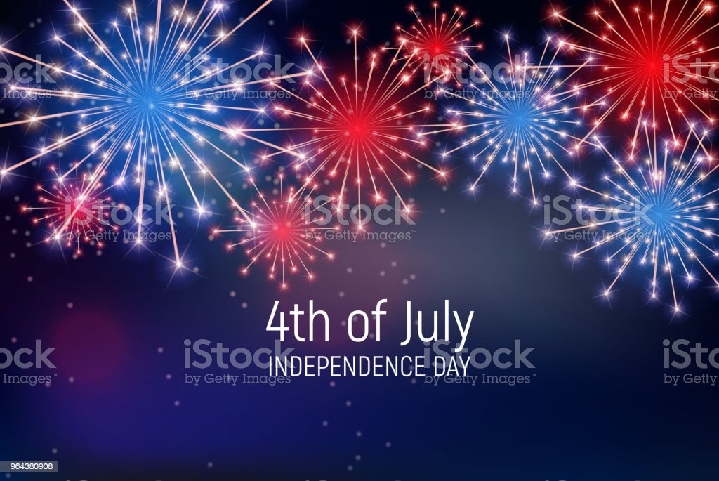 Fourth Of July Independence Day Of The United States Happy Birthday