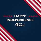 Fourth of July Independence Day. Vector illustration EPS10