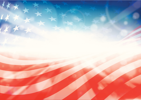 Independence Day, illustration contains transparency effects Opacity 9% - 95%. EPS10