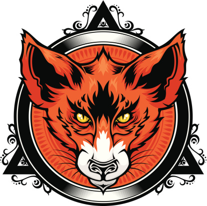 Fox head emblem