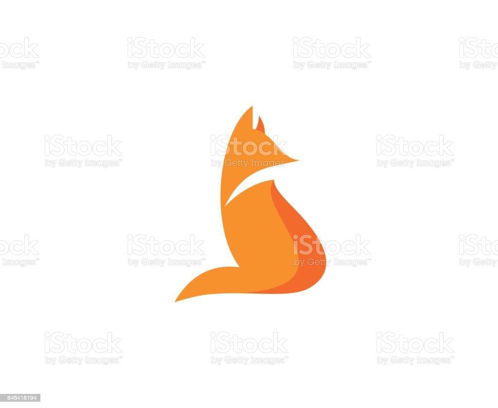 Icono de Fox - ilustración de arte vectorial