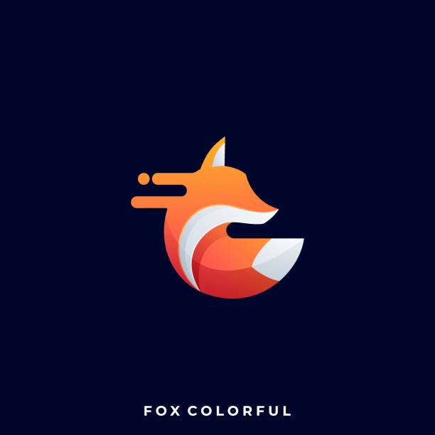 Fox Illustration Vector Template Fox Illustration Vector Template. Suitable for Creative Industry, Multimedia, Entertainment, Educations, Shop, and any related business. mammal stock illustrations