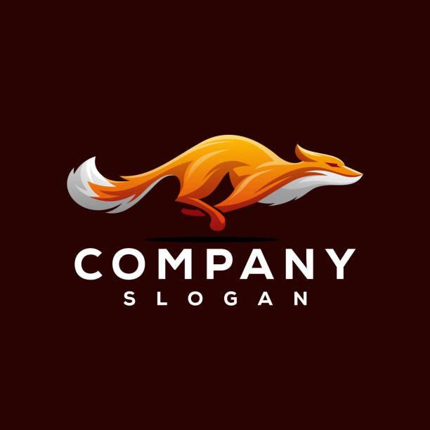 fox logo design fox logo design fox stock illustrations