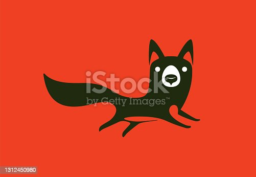 fox running symbol