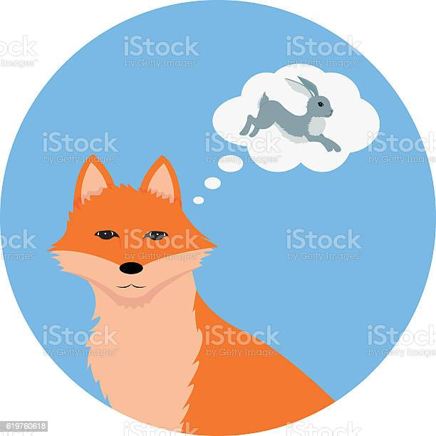 Fox thinking about hare vector id619760618?b=1&k=6&m=619760618&s=612x612&h=xjdtwrr yacfidpymolloyqcxsqt3qre5eyfcp76jwe=