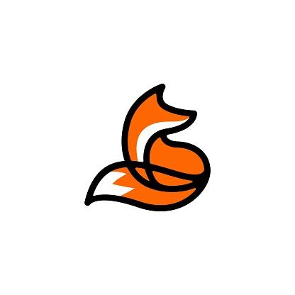 fox vector icon illustration