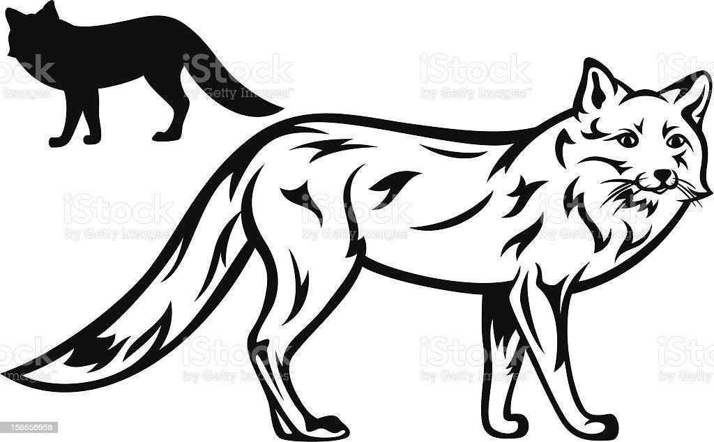 fox royalty-free fox 개과에 대한 스톡 벡터 아트 및 기타 이미지