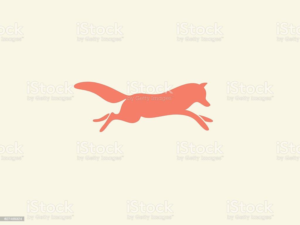 Fox  - ilustración de arte vectorial