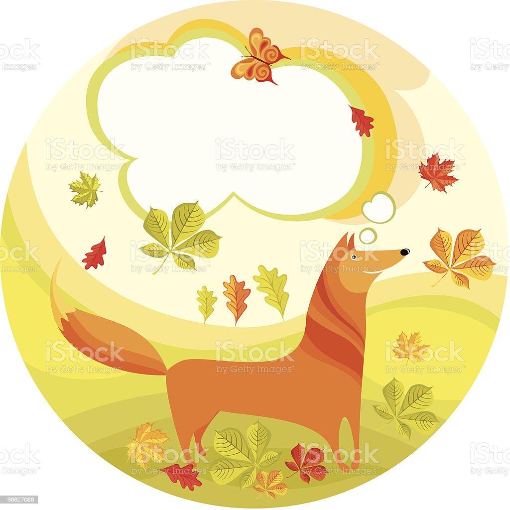 fox royalty-free stock vector art