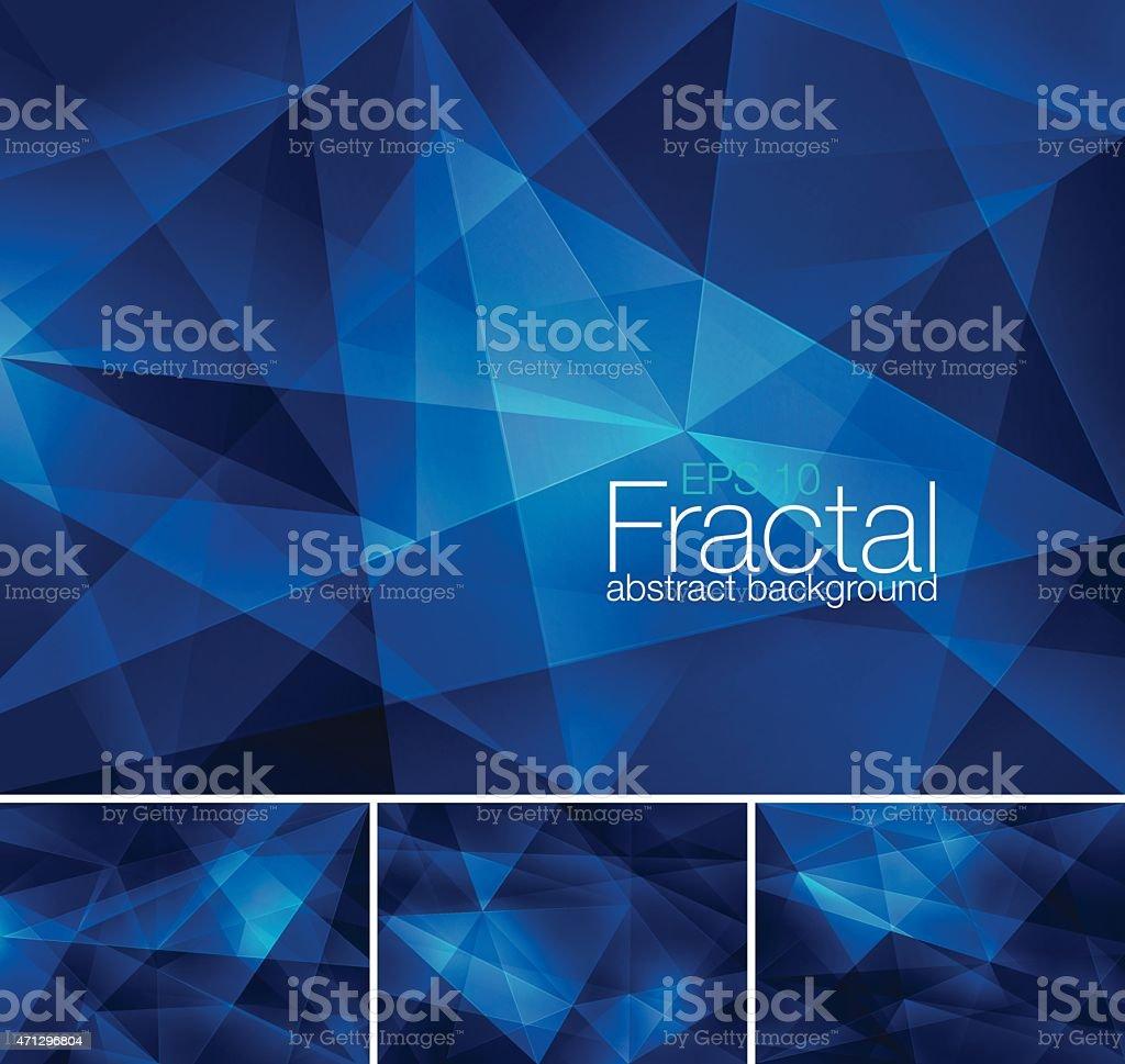 Fractal abstrato fundo - Vetor de 2015 royalty-free