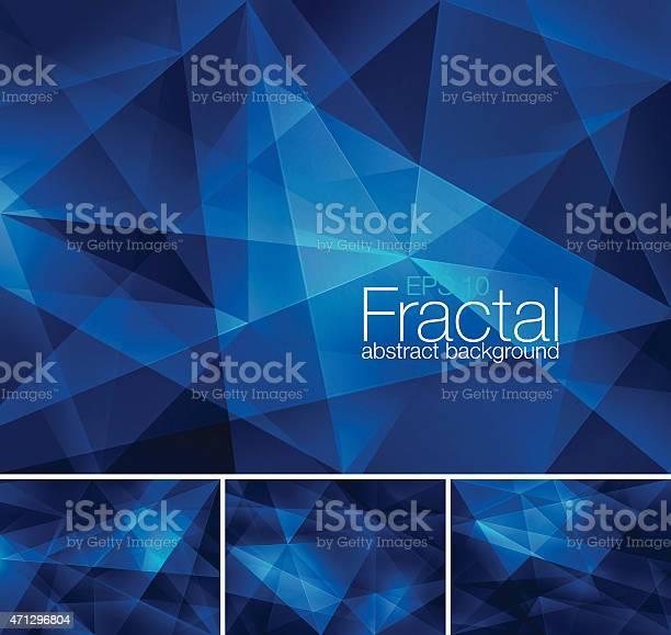 Vetores de Fractal Abstrato Fundo e mais imagens de 2015