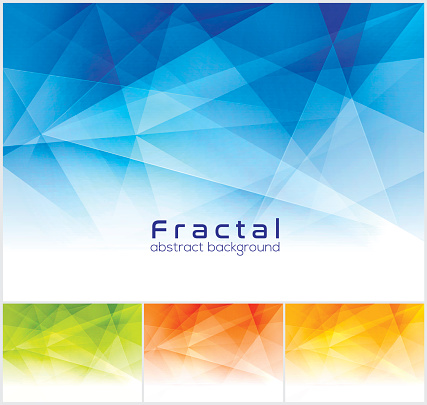 Fractal abstract background.