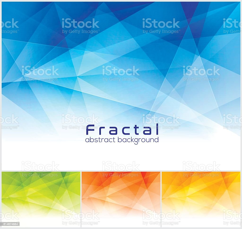 Fractal abstract background. - Illustration vectorielle