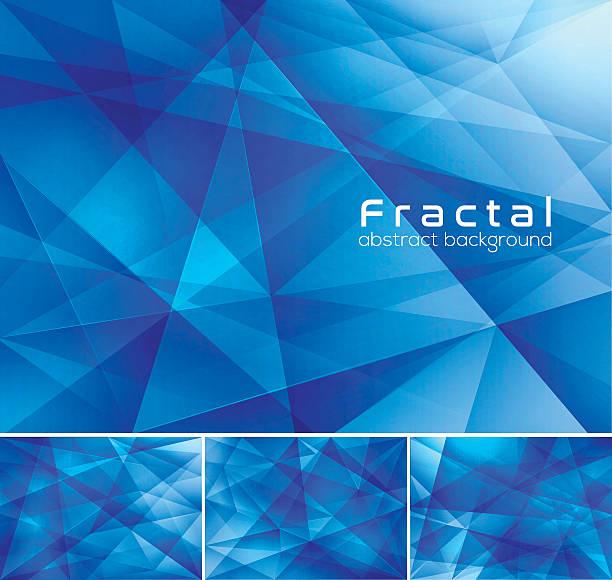 ilustrações, clipart, desenhos animados e ícones de fractal abstrato fundo - organic shapes