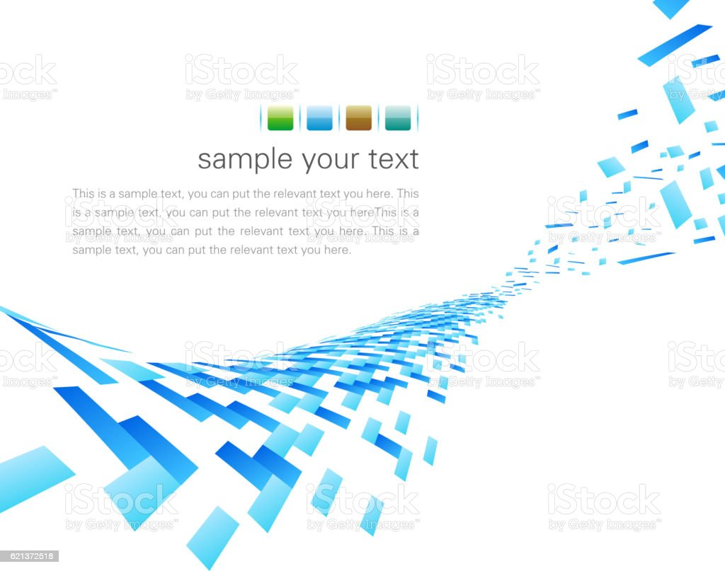 Fragment background vector art illustration