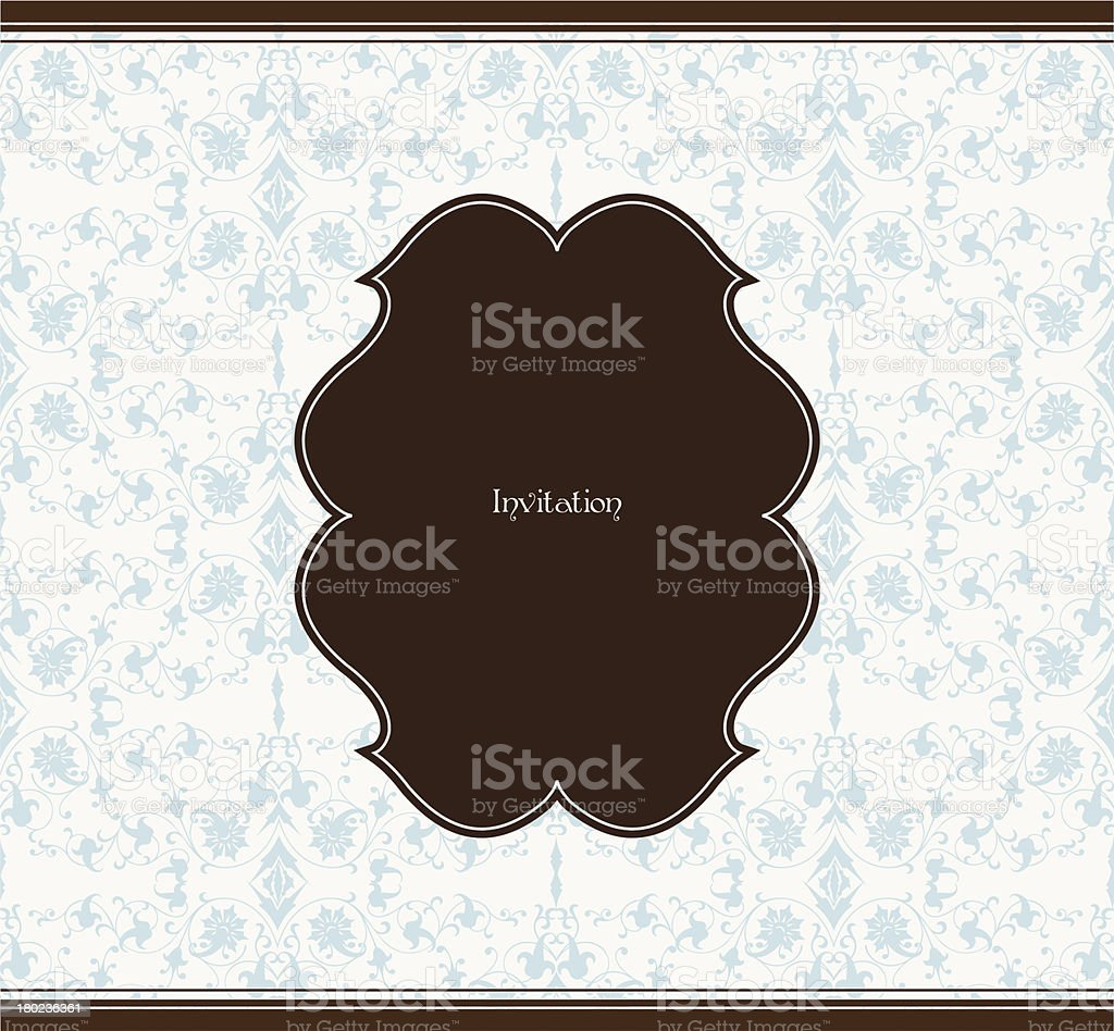 Frame and seamless background. Vector illustration royalty-free frame and seamless background vector illustration stock vector art & more images of backgrounds