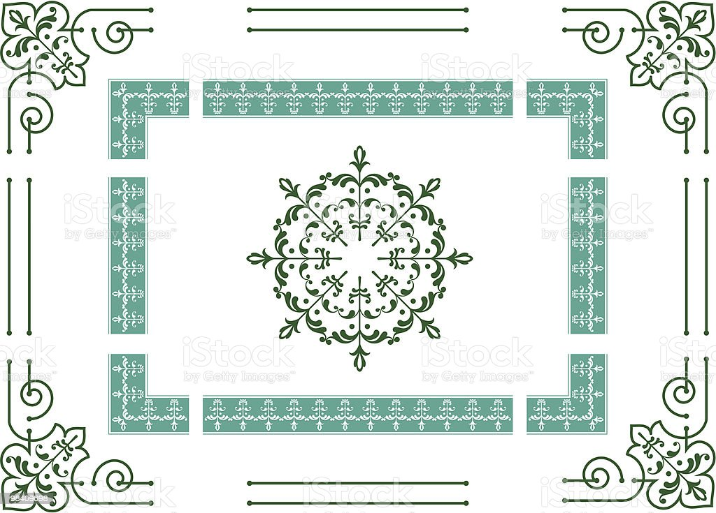 Frame, Border royalty-free frame border stock vector art & more images of art deco