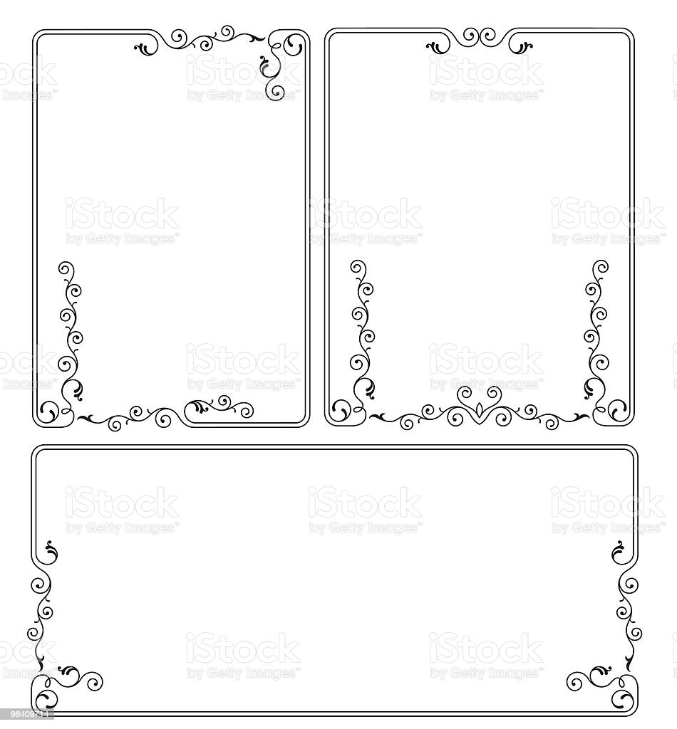 Frame Design royalty-free frame design stock vector art & more images of art deco