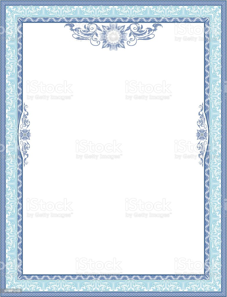 Frame for diploma. royalty-free frame for diploma stock vector art & more images of achievement