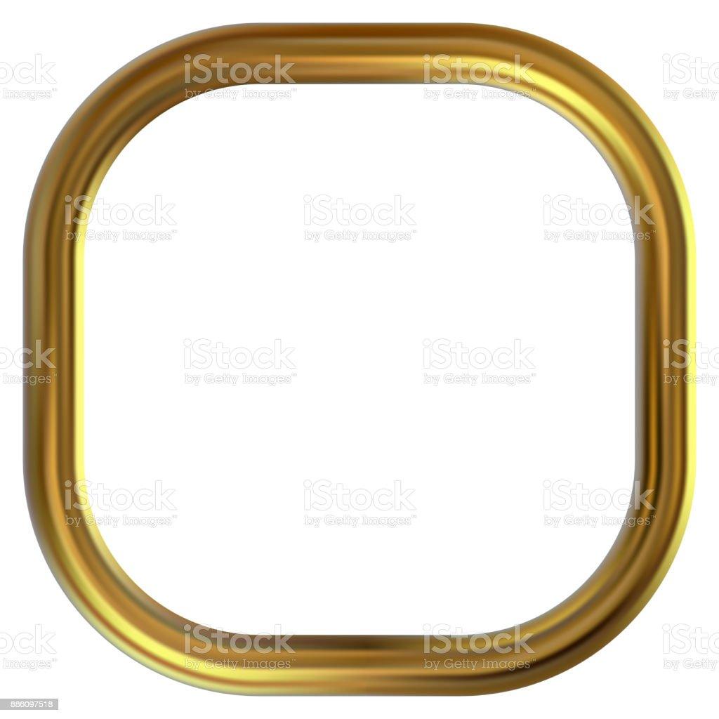 Rahmen Gold Clipart Stock Vektor Art und mehr Bilder von Abstrakt ...