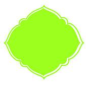 Vector Frame Green Dome