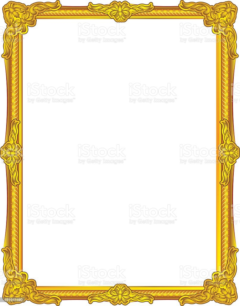 Frame Louis Picture Vector Stock Vector Art & More Images of 2015 ...