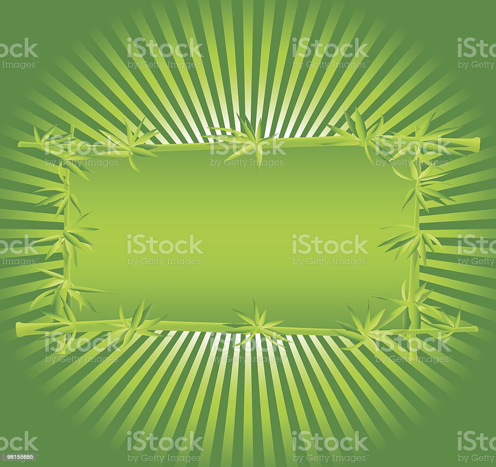 frame of a bamboo royalty-free frame of a bamboo stock vector art & more images of backgrounds