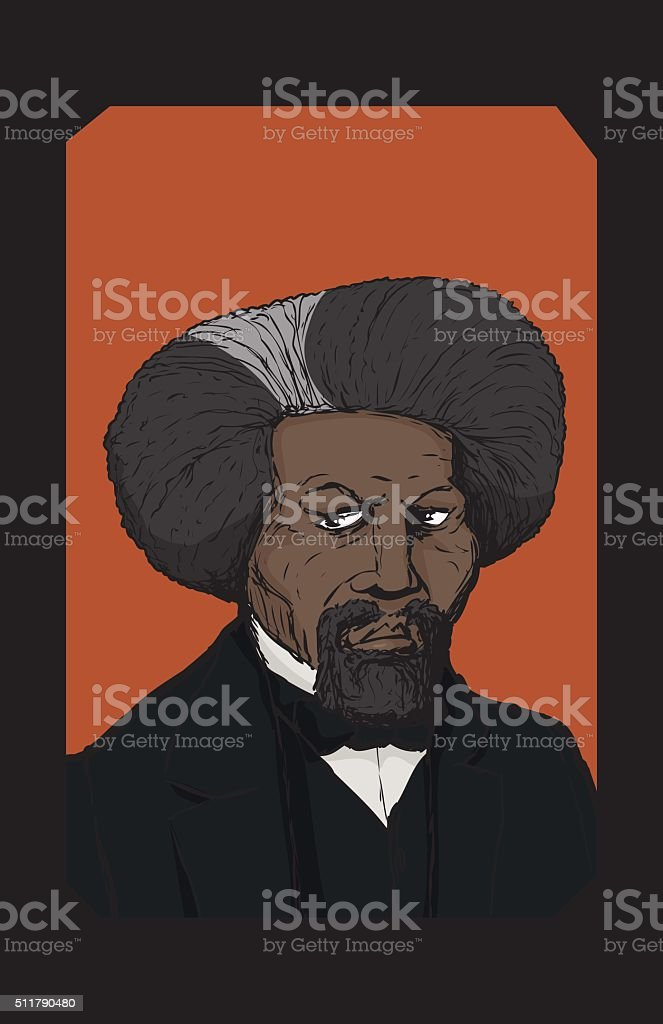 Royalty Free Frederick Douglass Clip Art Vector Images
