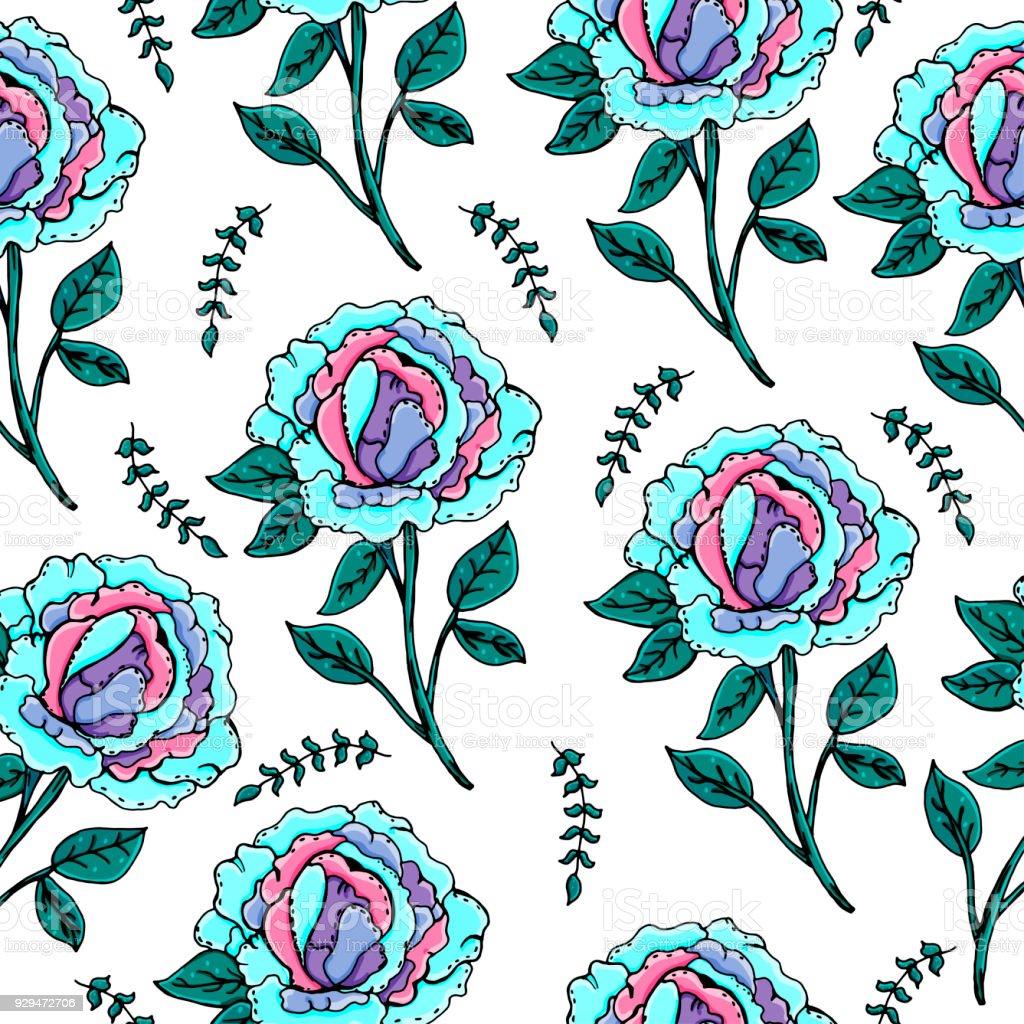 Vetores De Quadro De Peônias Redonda Lindas Flores Desenho