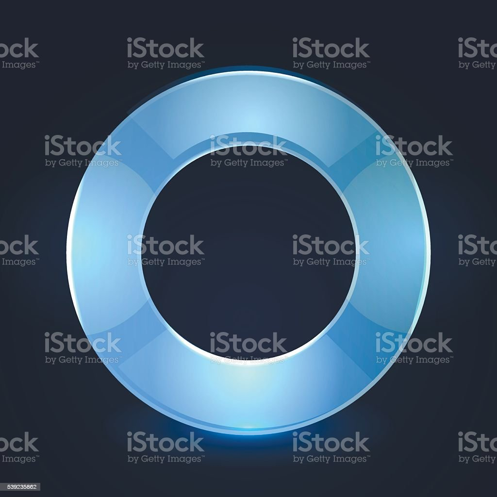 Frame round glass glowing royalty-free frame round glass glowing stock vector art & more images of abstract