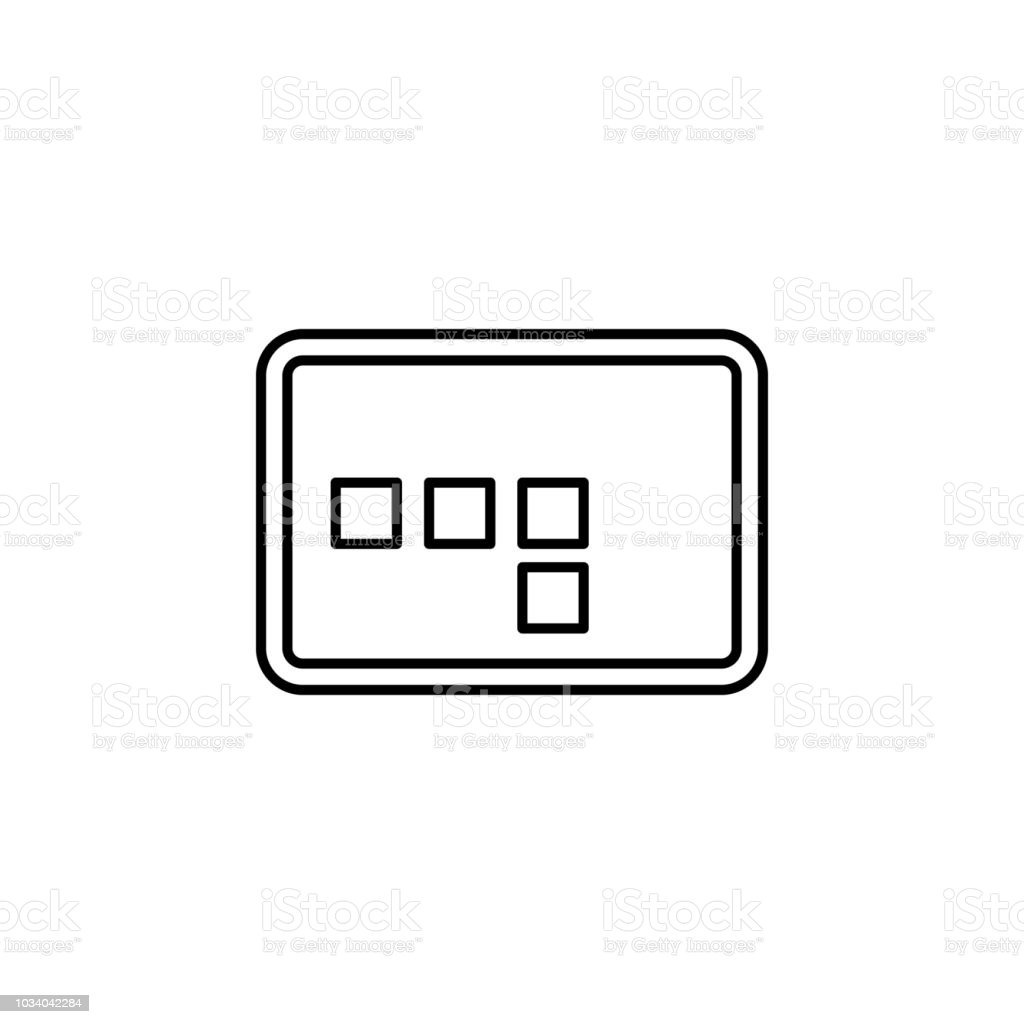 Frame Sign Icon Element Of Image Sign For Mobile Concept And Web ...