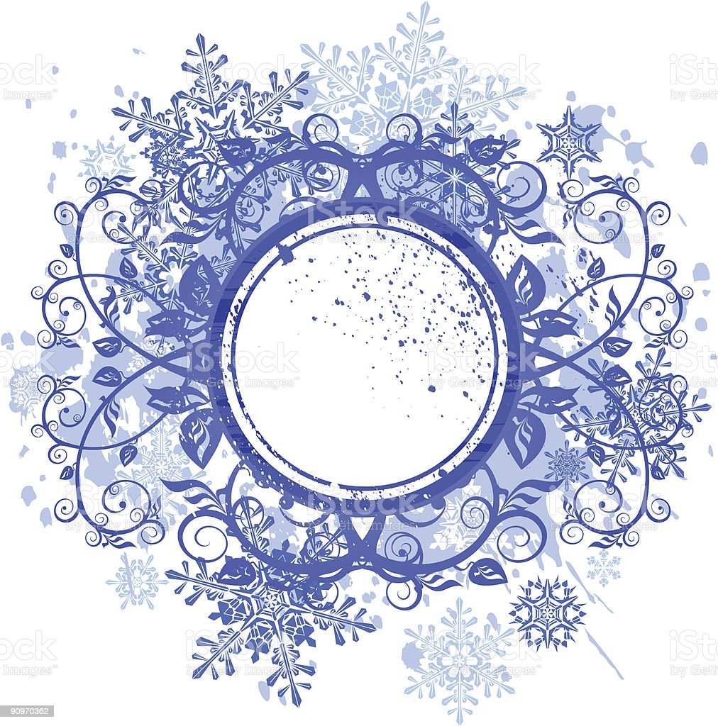 frame & snowflakes royalty-free frame snowflakes stock vector art & more images of abstract