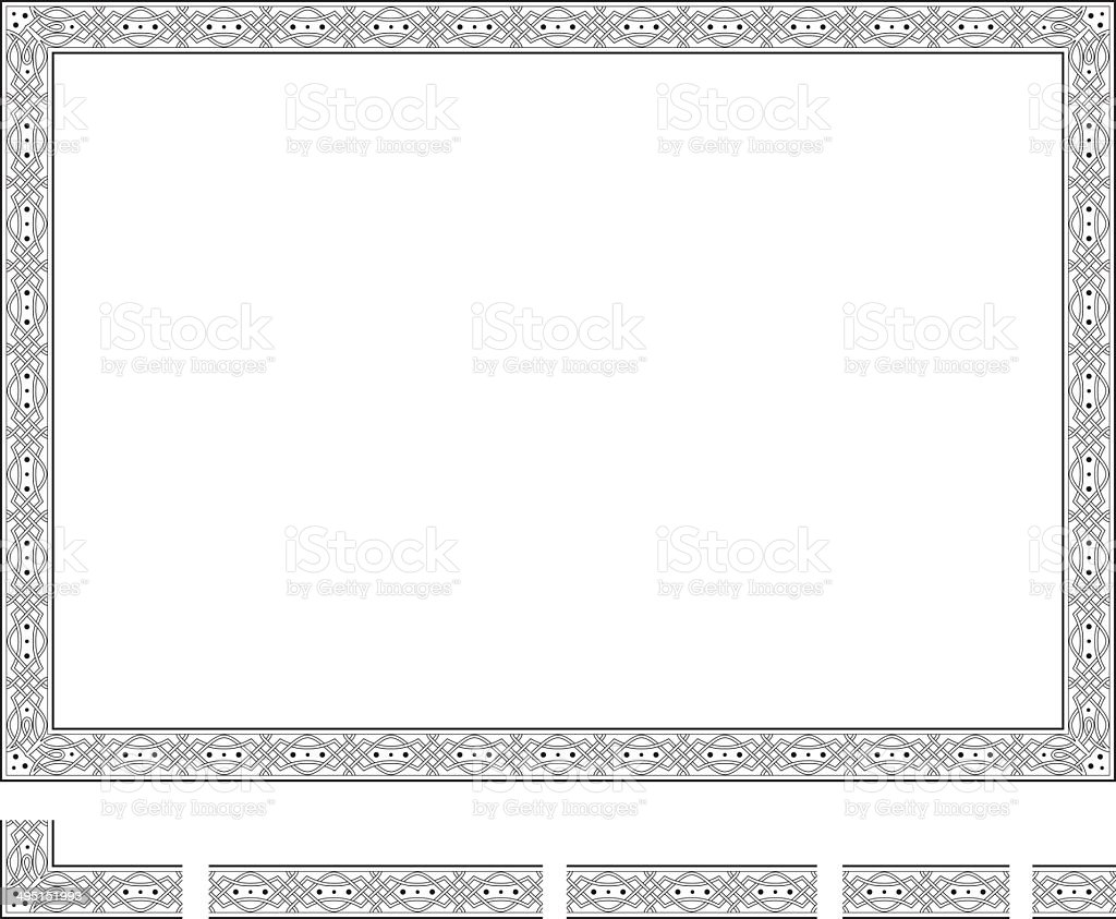 Frame vector art illustration