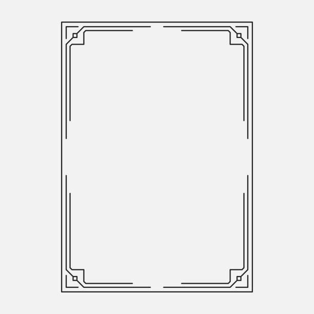 프레임 벡터, 원래 디자인 - 모던 양식 stock illustrations
