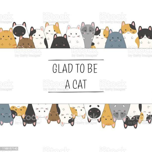 Frame with cute kitten family cartoon vector illustration vector id1169157140?b=1&k=6&m=1169157140&s=612x612&h= o0tc5qscg4rt1zkbn8syoioozmjf4gyithfrjck31u=