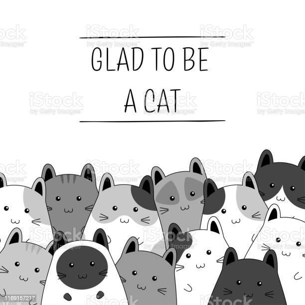 Frame with cute kitten family cartoon vector illustration vector id1169157217?b=1&k=6&m=1169157217&s=612x612&h=kkr5rt5ebvbmtg7 2aijrr3usjywbhrjli jmafn5i4=