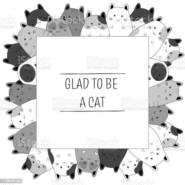 Frame with cute kitten family cartoon vector illustration vector id1169157232?b=1&k=6&m=1169157232&s=612x612&h=obdo9lccr25z2su grt4j8 idmwevp2365e dtnqu1g=
