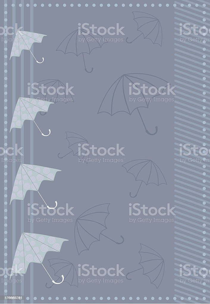 frame with umbrellas royalty-free frame with umbrellas stock vector art & more images of abstract