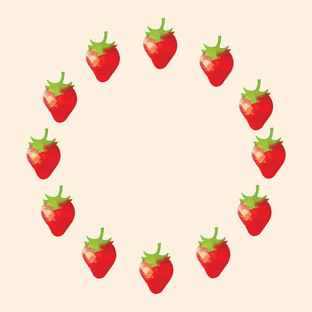 Strawberry Outline Pictures Illustrations, Royalty-Free ...