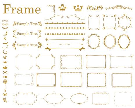 Frame1 Stock Illustration - Download Image Now