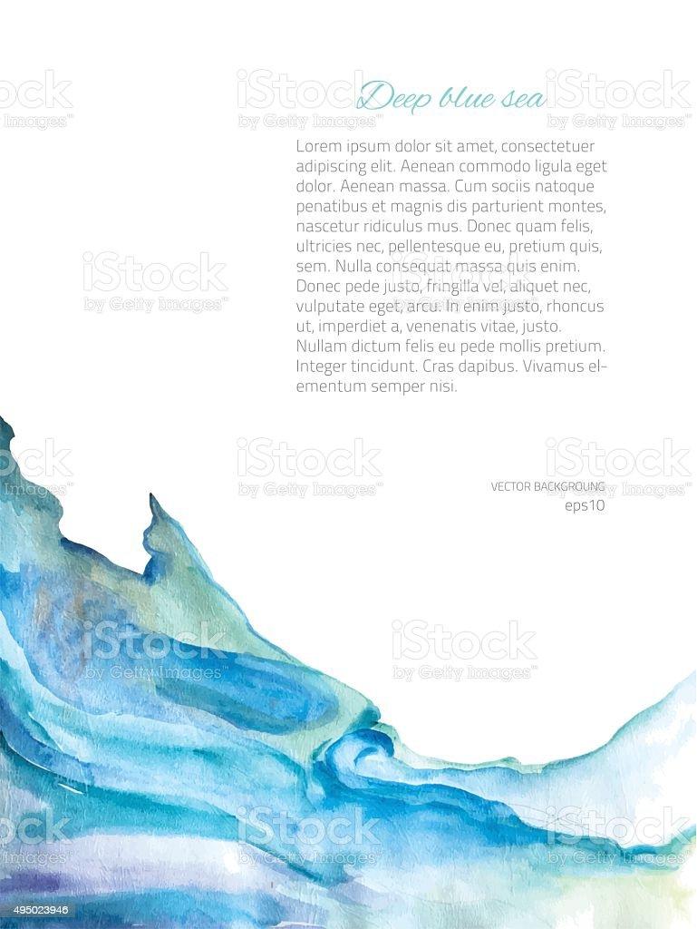 FrameBlue vector art illustration