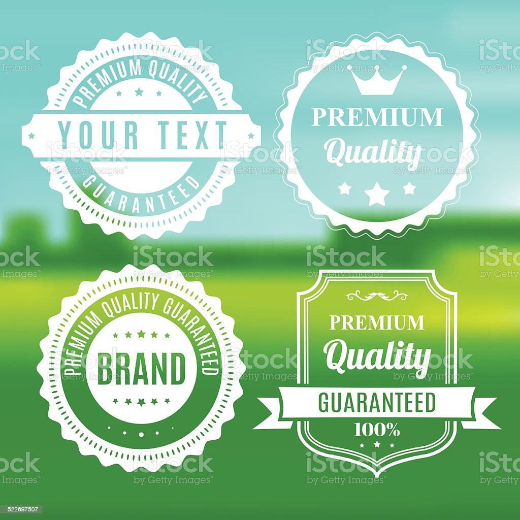 Frames and Banners - VECTOR vector art illustration